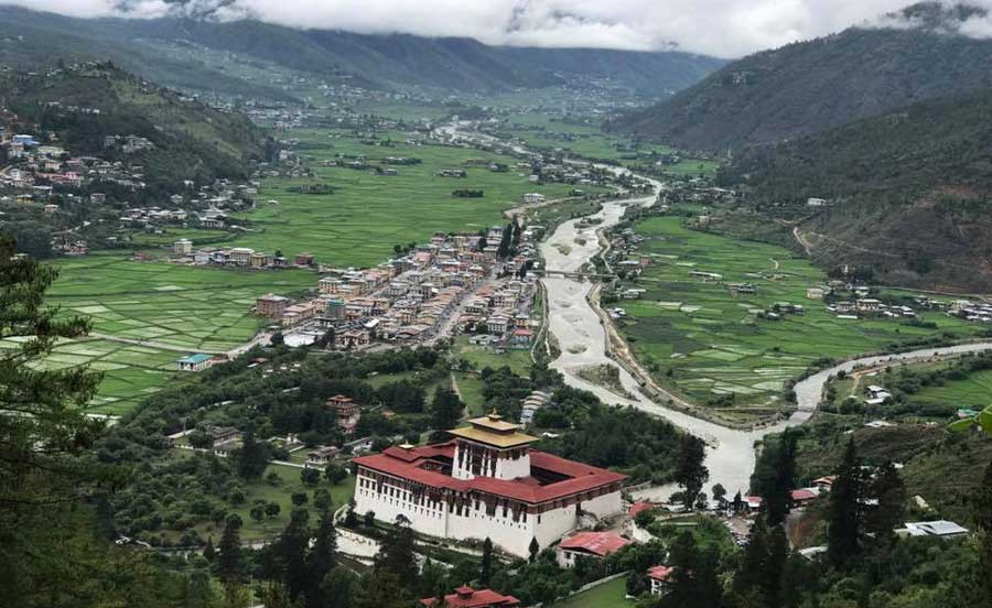 Driving Distance in Bhutan