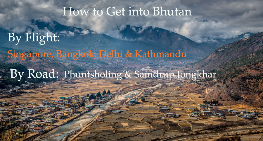 How to get into Bhutan\
