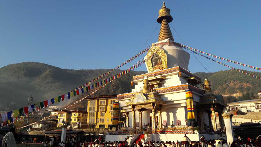 National Memorial Chorten at Thimphu