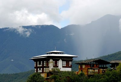 Bhutan Tour Packages-traditional-Bhutanese-farmhouse